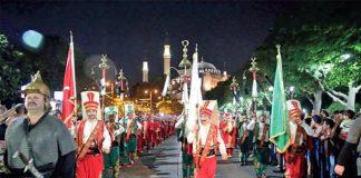 """Protokol Haber'de BAKTAD ve Fatih Belediyesi, Kanuni Sultan Süleyman döneminde başlatılan 500 yıllık tarihi """"Baklava Alayı"""" geleneğini sürdürüyor."""